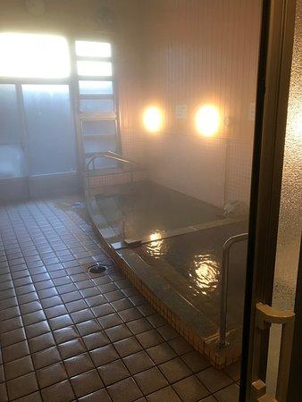 普通の浴槽ですがお湯は良い
