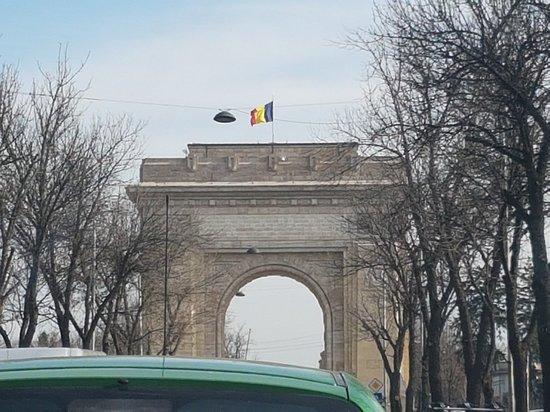Triumph Arch: Triuph arch Bucuresti