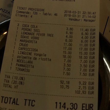Restaurant Rue De Liege Paris Tripadvisor