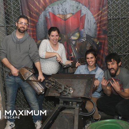Escape Room Barcelona Maximum