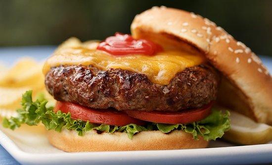 Etaules, Frankreich: hamburger.