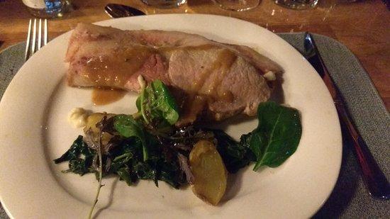 Bateau-Restaurant le Sicambre: Plat