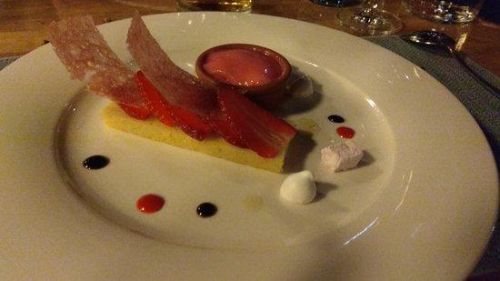 Bateau-Restaurant le Sicambre: Dessert