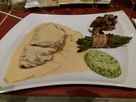 RESTAURANT L'AUTHENTIQUE : Bavette sauce St Marcellin