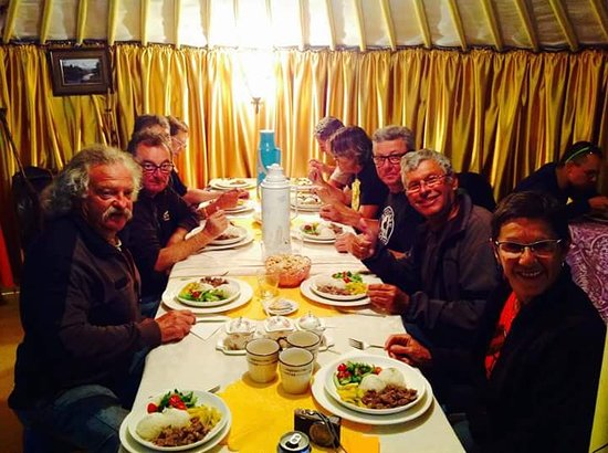 Family Guesthouse & Tours: dinner  in a Family guest house