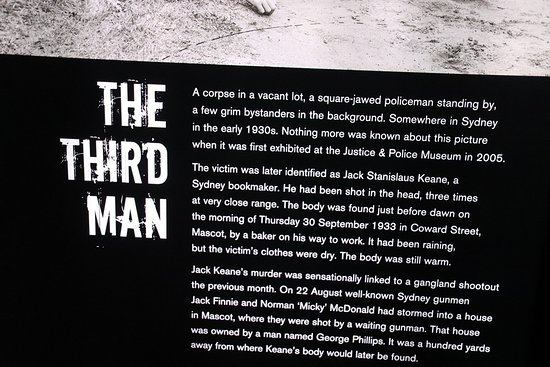 Justice & Police Museum: The third man