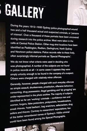Justice & Police Museum: The gallery
