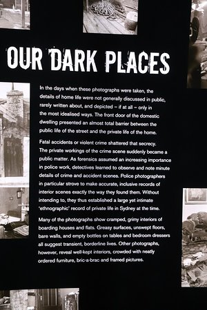 Justice & Police Museum: Our dark places