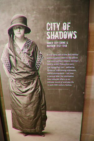 Justice & Police Museum: City of shaddows