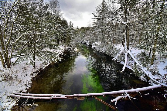 Petersham, MA: This view is from the bridge on Rte 9 Belchertown / ware line