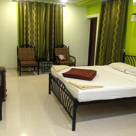 Room C11 very nice spacious room with kitchen area , bathroom and balcony over looking pool.