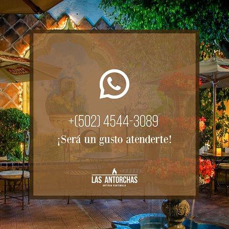 Las  Antorchas: Reservar via  whats  app