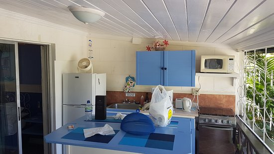 Lower Carlton, Barbados: Kitchen is worse than in a hostel