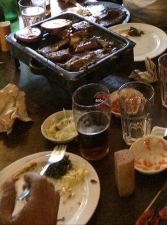 קרית טבעון, ישראל: shared Meal at Asado-Bar Alonim