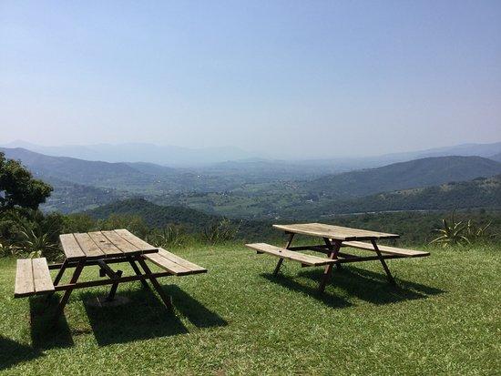 Piggs Peak, Swaziland: Outdoor seating