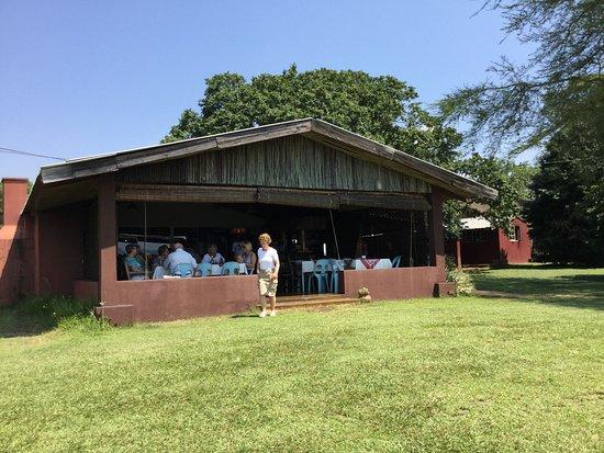 Piggs Peak, Swaziland: indoor seating