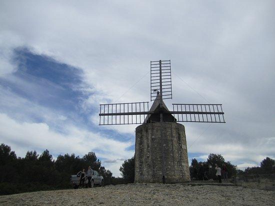 Moulin de Daudet: Le moulin en mars