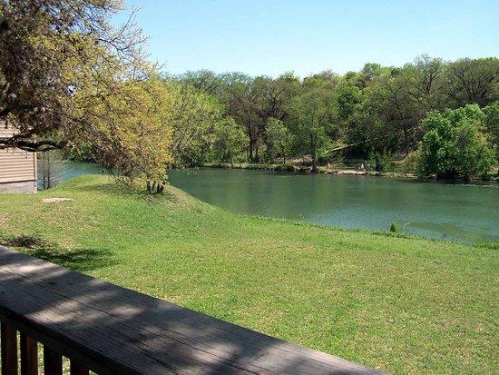 Ingram, TX: Overlooking the River