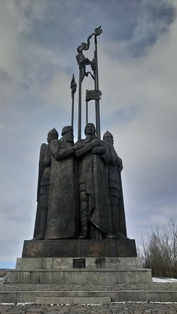 Monument In Memory of the Ledovoye Battle Photo