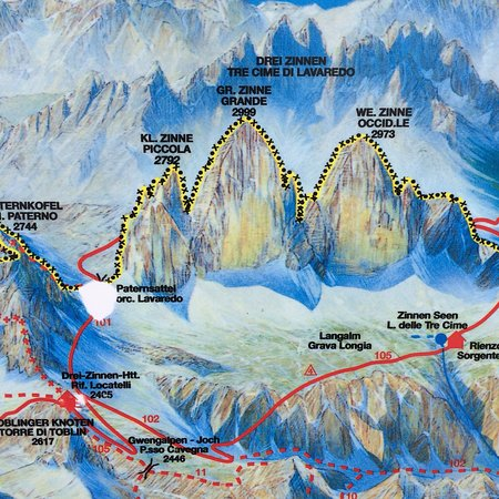 Cartina 3 Cime Di Lavaredo.What To Do And See In Province Of Belluno Italy The Best Places And Tips