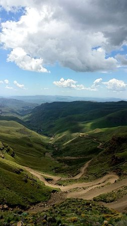 Amazing view over Sani Pass