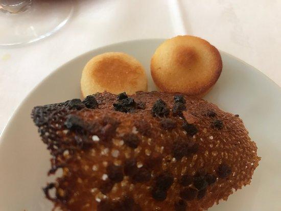 Marius: complimentary dessert