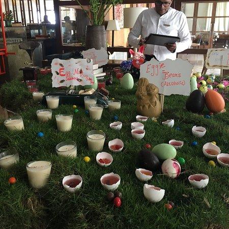 Visited the Easter bunny at Grand Hyatt Goa