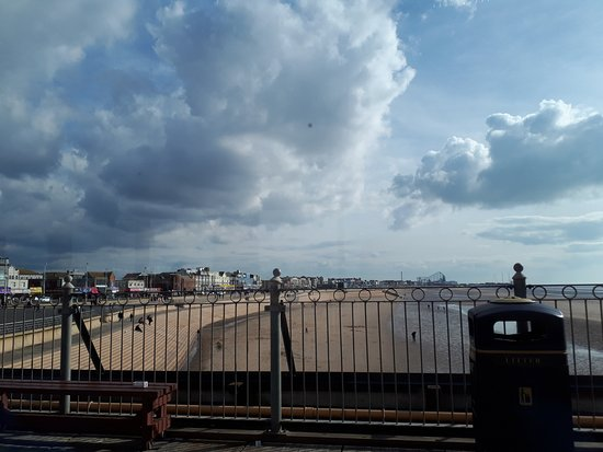 Central Pier: View from wheelhouse cafe on the pier