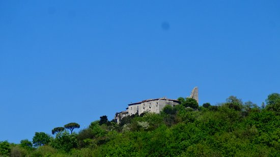 Castelnuovo Parano, إيطاليا: Panorama del Centro Storico visto da Ausonia.