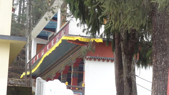 Lachung Monastery: View from outside