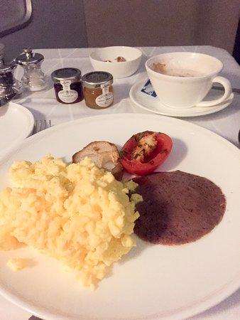 British Airways: Breakfast eggs