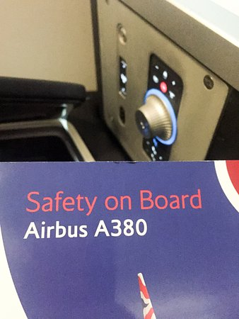 British Airways: Airbus A380 and seat control