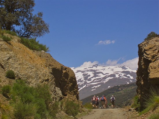 Pitres, إسبانيا: Come on a guided walking holiday based at Casa Ana with writer Chris Stewart