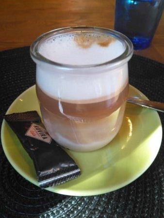 Sant Esteve de Palautordera, Spanien: Café cortado