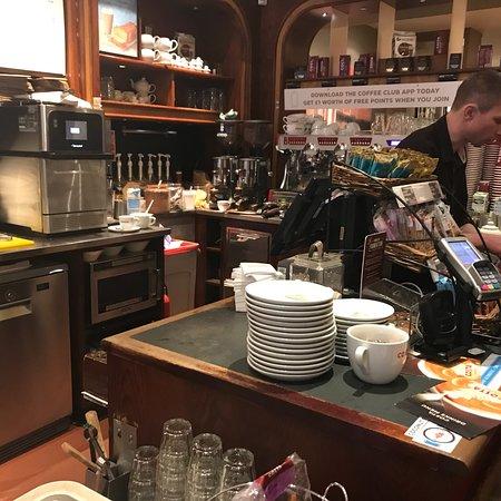 Costa Coffee Edinburgh 13a Castle St Princes Street And