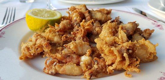 Restaurante Enrique: Baby Calamari ein absolutes Muss