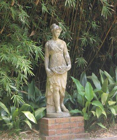 Shadows on the Teche : Garden statue