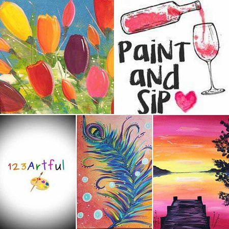 Salmon Arm, Canada: Paint & Sip 123 Artful