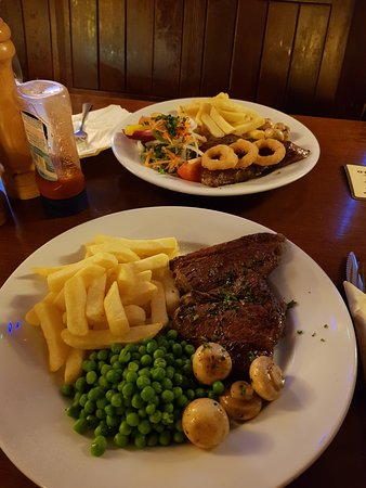 Tormarton, UK: rump steak