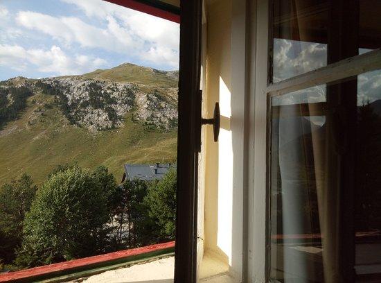 Candanchu, Spanien: las preciosas vistas desde la habitación