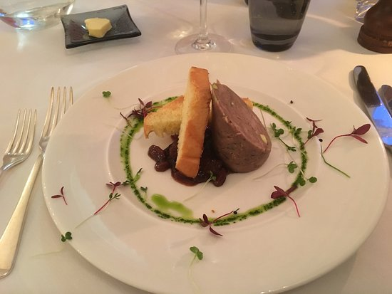 Flitwick, UK: Duck terrine starter