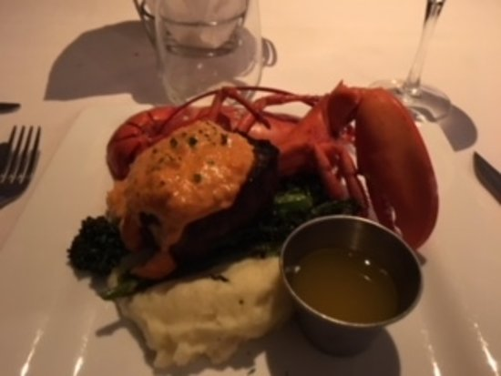 Great Surf and Turf at The Hurricane Restaurant