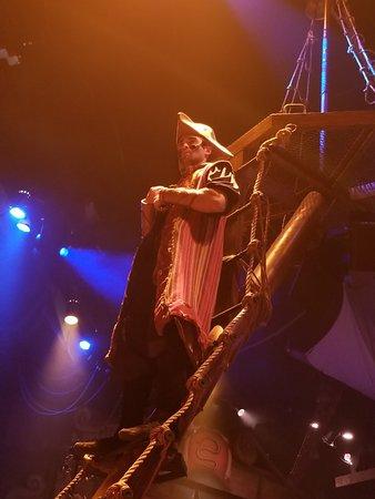 Pirates Dinner Adventure: Andre, the orange pirate