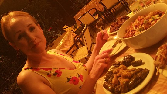 Agia Fotia, Greece: You will not leave hungry !