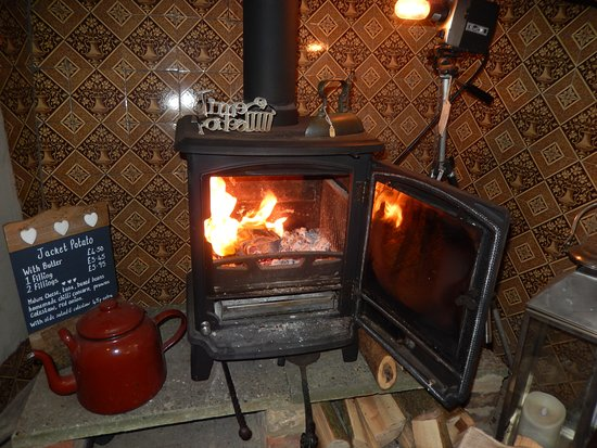 Come and warm up by our log burner  Cosy and warm! - Picture