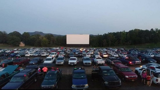 Kings Mountain, Carolina del Norte: Hound's Drive In Theater