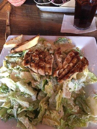 Byron, IL: Delicious Chicken Caesar Salad!