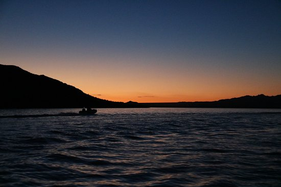 Lake Havasu: Sunset from the water
