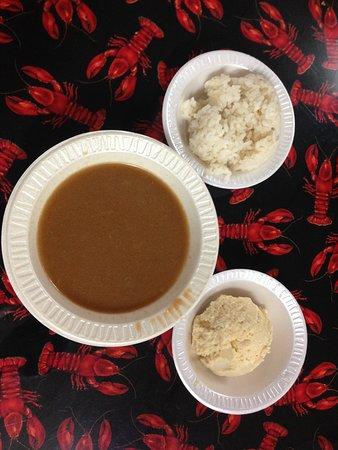Kaplan, Luizjana: gumbo... looks simple... complex balanced flavours