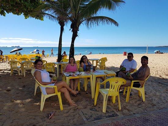 praia Itaparica com amigos